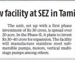 C.R.I-Pumps-opens-a-new-manufacturing-unit-in-Perundurai-SEZ-9